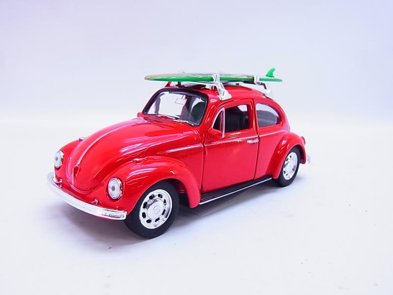 LOT 54659 Welly VW New Beetle Convertible beige Modellauto 1:40 NEU in OVP