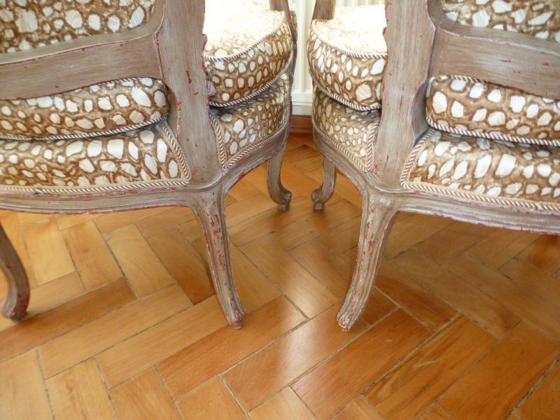 zwei ausgefallene sessel um 1900 im stil louis xvi ebay. Black Bedroom Furniture Sets. Home Design Ideas